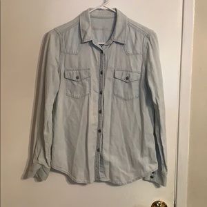 Gap Light Blue Denim Shirt